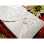 Invitación de boda iniciales, Cardnovel 32720 detalle