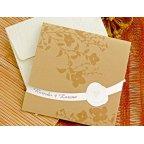 Invitación de boda flores en brillo, Cardnovel 32753
