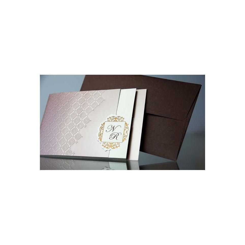 Wedding Invitation Verjured Paper , Cardnovel 34915