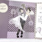 Newlywed Car Wedding Invitation, Cardnovel 39218 Boyfriends
