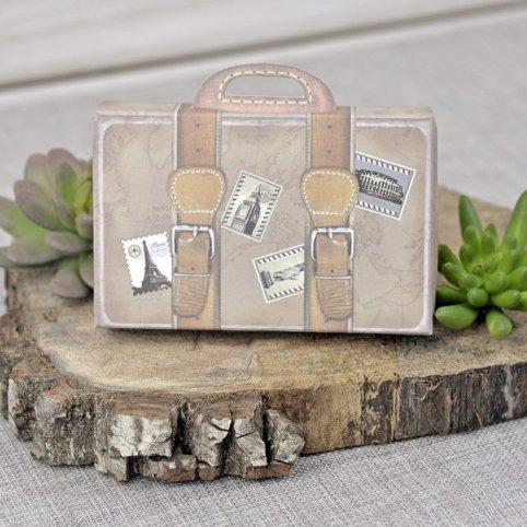 Travel Suitcase Wedding Invitation, Cardnovel 39339