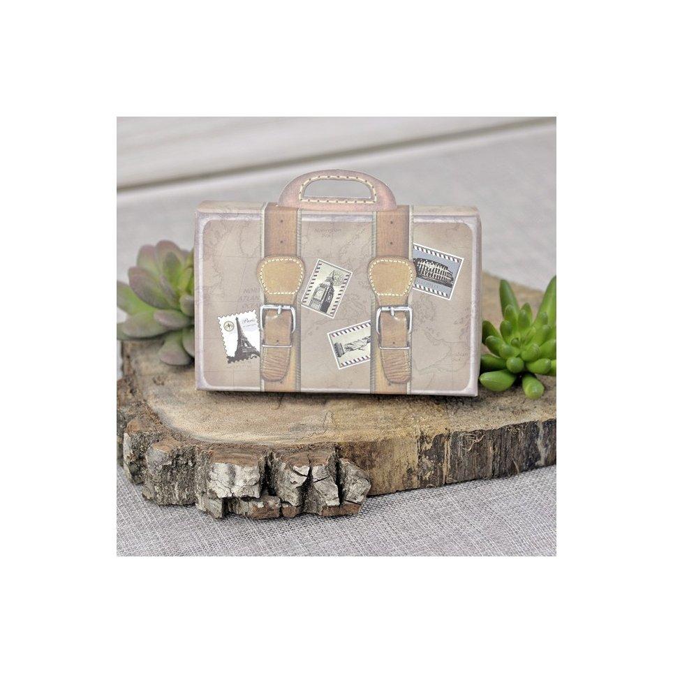 Invitación de boda maleta de viaje, Cardnovel 39339