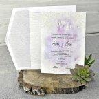 Watercolor Wedding Invitation, Cardnovel 39304