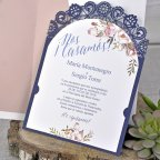 Lace Blonde Wedding Invitation, Cardnovel 39326 text