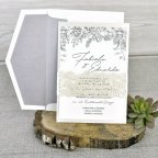 Pearl Wedding Invitation, Cardnovel 39337