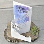 Invitación de boda playera, Cardnovel 39335 abierta