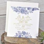 Invitación de boda boarding pass, Cardnovel 39325 texto