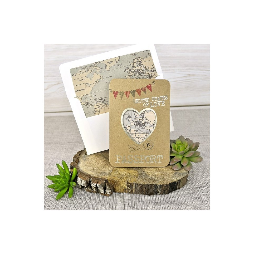 Invito a nozze passaporto, Cardnovel 39315