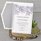 Embossed Rose Wedding Invitation, Cardnovel 39320