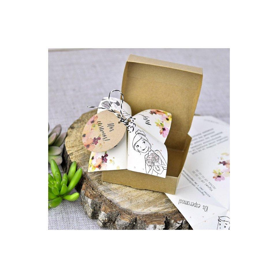 Hochzeitseinladungspapierdrachen, Cardnovel 39310