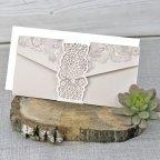 Wedding Invitation on Band, Cardnovel 39330