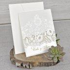 Invitación de boda rosas en láser, Cardnovel 39321