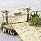 Treasure Map Wedding Invitation, Cardnovel 39308 detail
