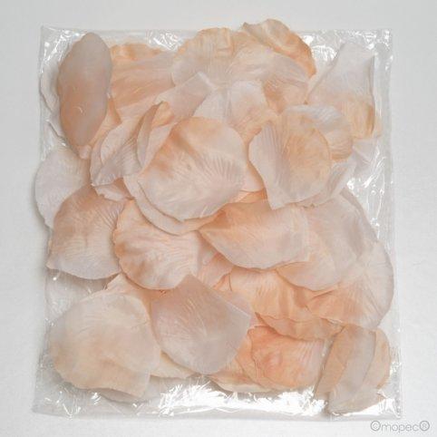 Pétalos de rosa, col.rosa, precio x bolsa de 144pcs.