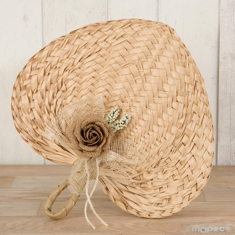 Paipay 29x30 cm adorned with jute flower