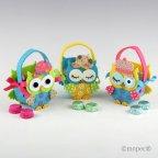 Small basket owls hat 2 chocolates