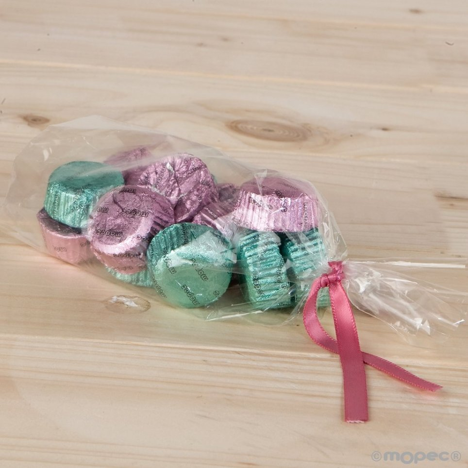 Bag 15 chocolates compatible with jar