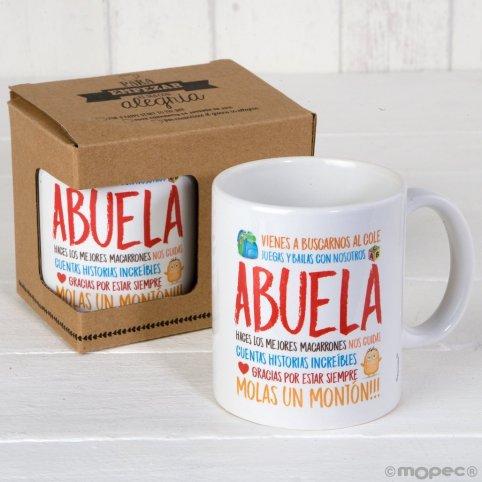 Granny ceramic mug in gift box