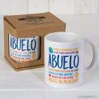 Taza cerámica Abuelo en caja regalo