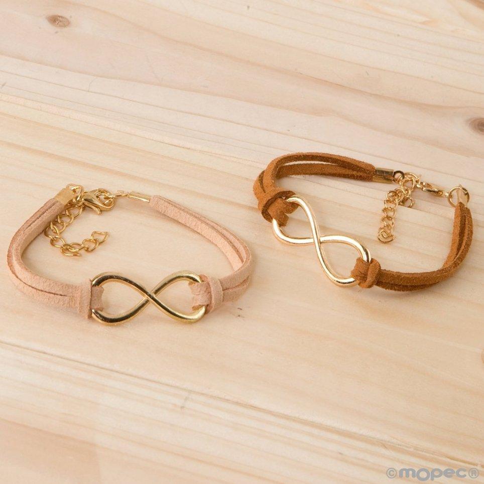 Bracelet skin infinity symbol 2 colors