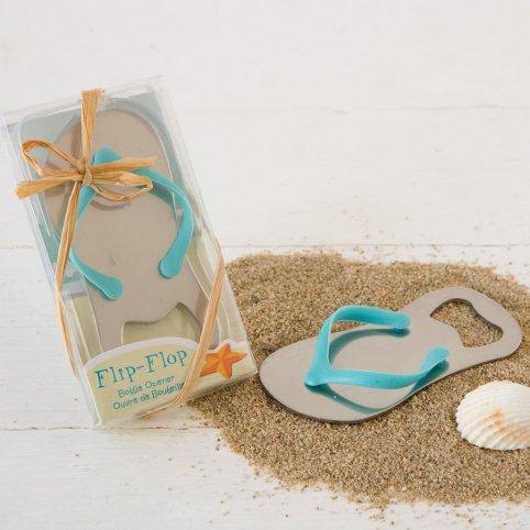 Apribottiglie pantofola da spiaggia in confezione regalo