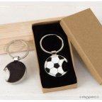 Llavero abridor pelota fútbol con caja regalo 3,5x7 cm