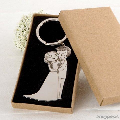 Pop Boyfriends Keychain & Fun Caress in Gift Box