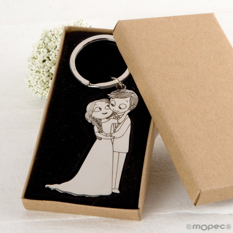 Pop Boyfriends Keychain & Fun Caress in Gift Box