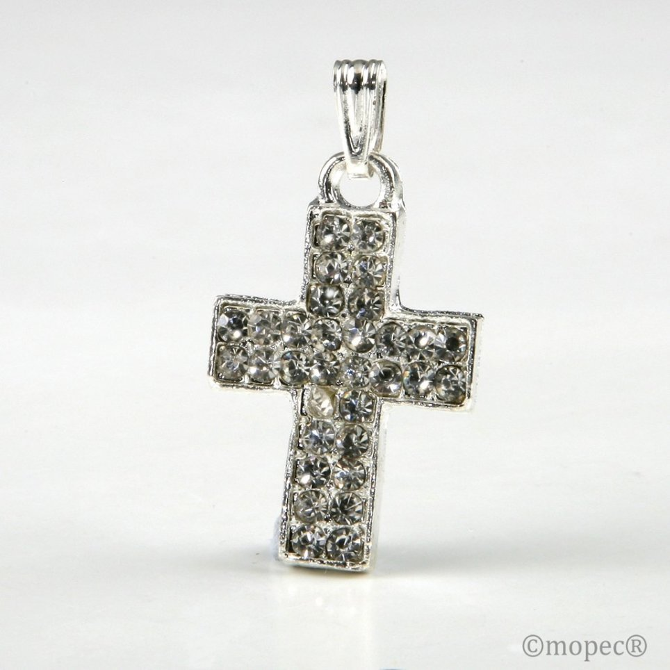 Cross strass pendant without tape