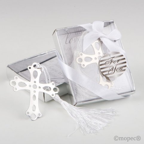 Punto croce in scatola regalo 7,5x9x2 cm