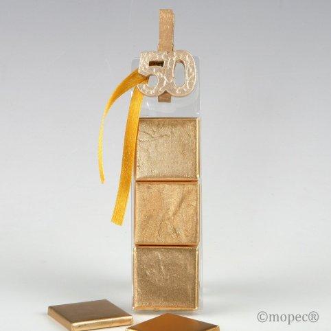 Scatola 3 napolitane e pinza in legno 50 anni