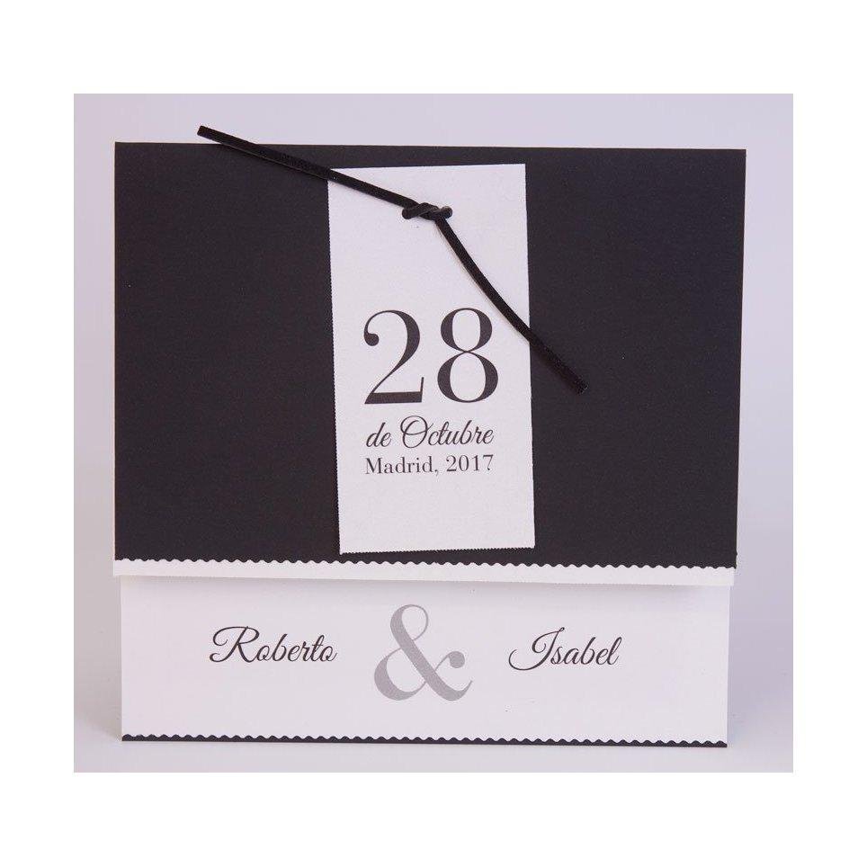 Invitación de boda fecha Edima 100.544