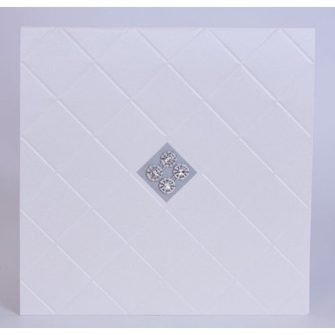 Hochzeitseinladung Diamanten Raute Edima 100.716