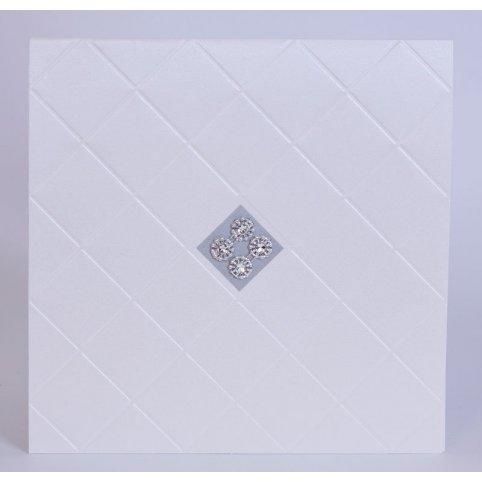 Invitación de boda diamantes rombo Edima 100.716