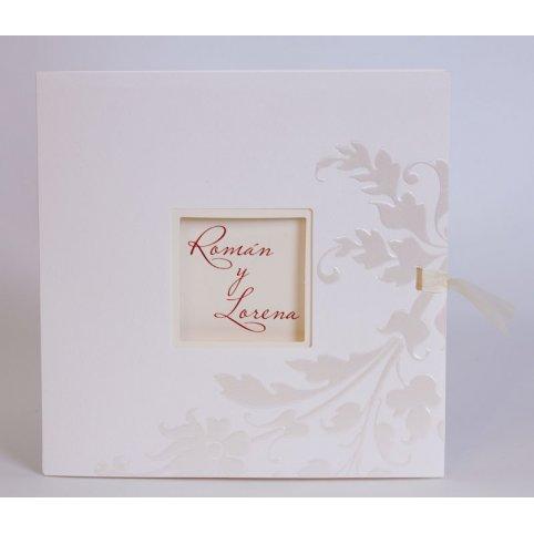 Invitación de boda troquel ventana detalle Edima 100.467