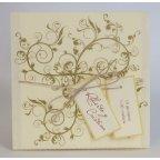 Edima Pergament Hochzeitseinladung 100.476
