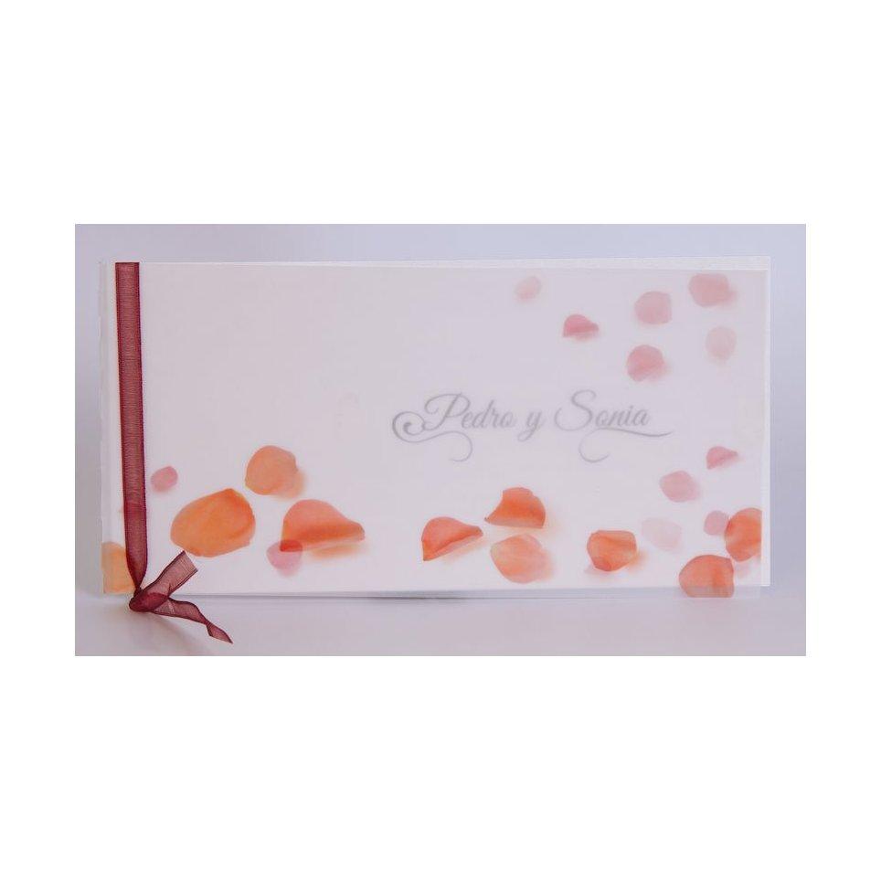 Invitación de boda pétalos Edima 100.487