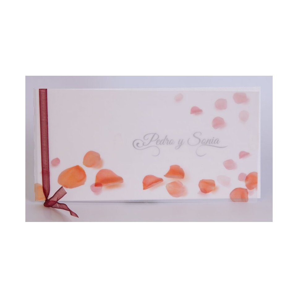 Wedding Invitation Petals Edima 100,487