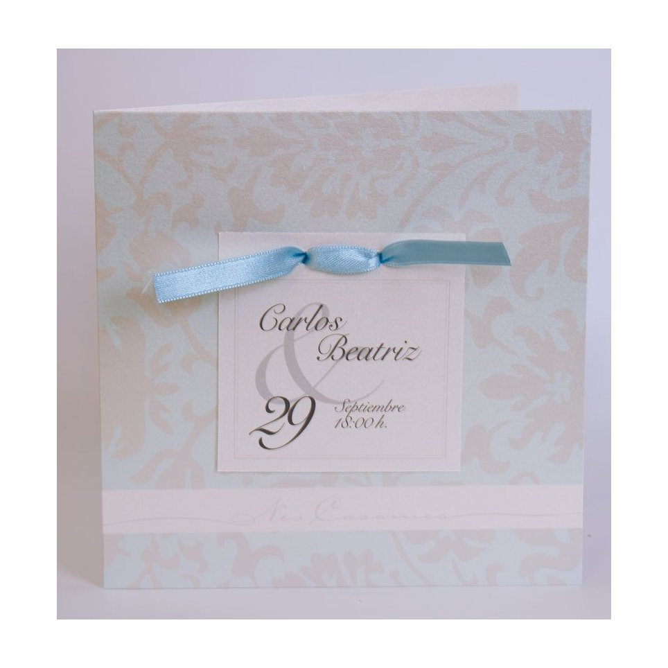 Hochzeitseinladungskrawatte und Edima-Karte 100.541