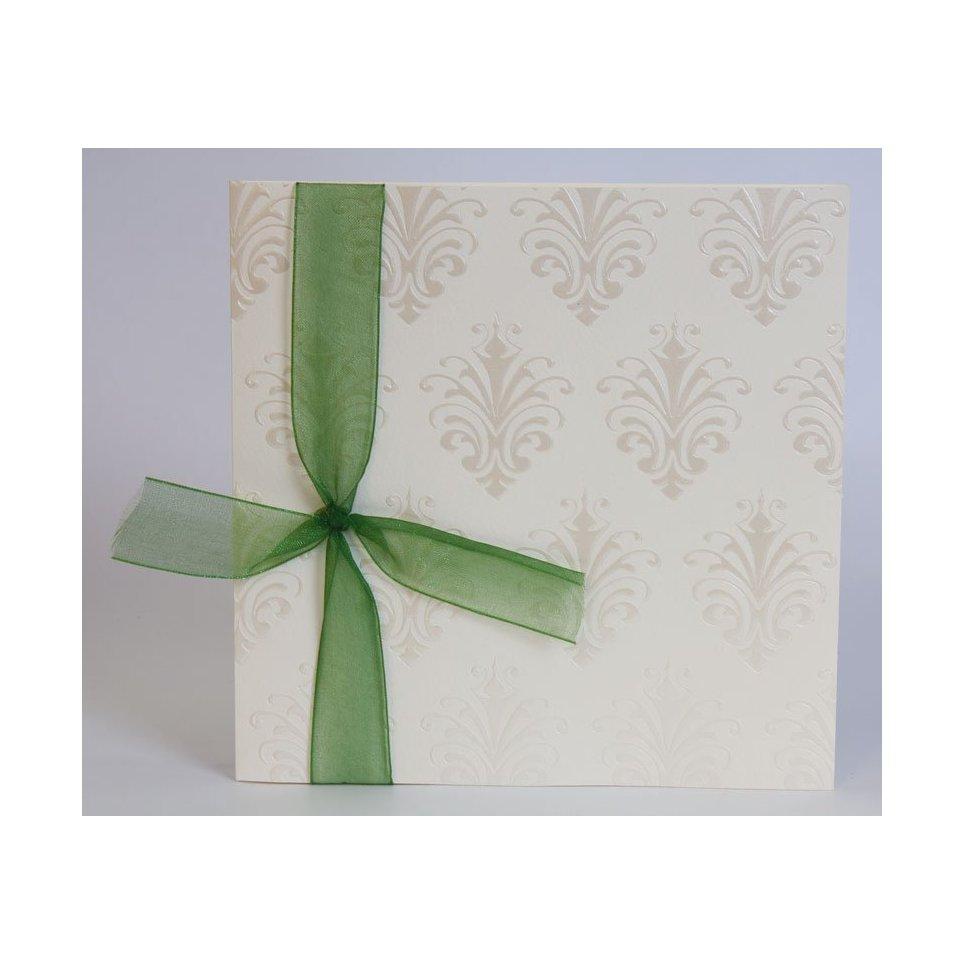 Cream Wedding Invitation Edima 100,533