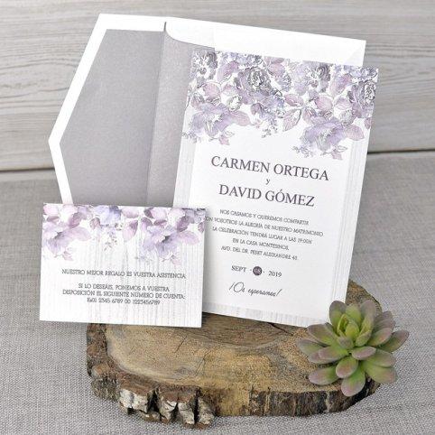 Tarjeta de agradecimiento rosal, Cardnovel 49320