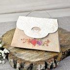 Flower Case Wedding Invitation Cardnovel 39314