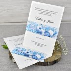 Hochzeitseinladung Blumenöl Cardnovel 39305 komplett