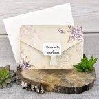Invitación de boda nombres sobre, Cardnovel 39313
