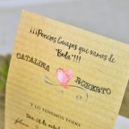 Hochzeitseinladung Cardnovel Kamera 39309 Text