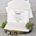 Invitación de boda nombres árbol Cardnovel 39303 interior
