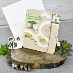 Invitación de boda novios camino, Cardnovel 39301