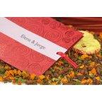 Invitación de boda rojo pasión Edima 100.663 lazo