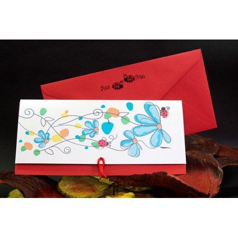 Ladybug Wedding Invitation Edima 100,677
