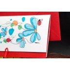 Ladybug Wedding Invitation Edima 100,677 detail
